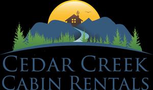 cedar creek cabin rentals logo