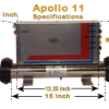 Apollo 11 Spa Pack Dimensions